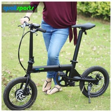 New exclusive foldable cruising mini e-bike with 36V battery