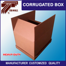 7-ply HSC style Brown Corrugated Cardboard Shipping Carton Box