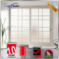 Superhouse 10 years warranty As2047 As2208 As1288 standard glass bedroom doors