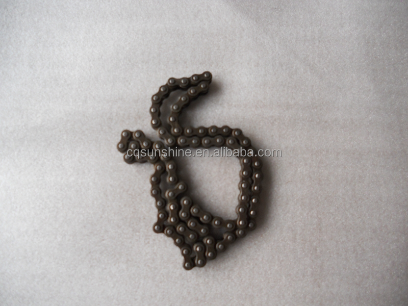 MOTORCYCLE SPARE PARTS CHAINS FOR 110CC CUB MOTORCYCLE