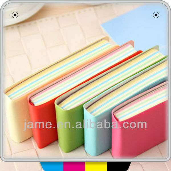 funny memo pad notebook with sticky note