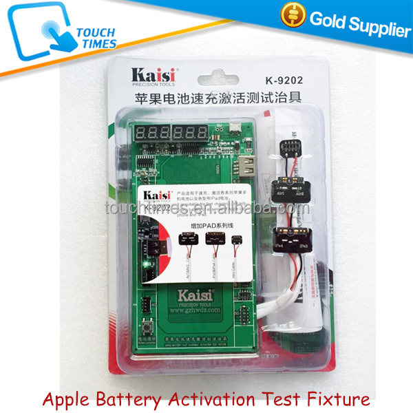 K-9202 Professional Battery Activation Charge Board with Micro USB Cable for iPad Air / iPhone Phones