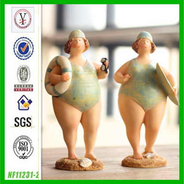 factory custom OEM/ODM wholesale fat lady sculpture