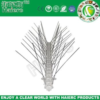animal repeller with alarm bird trap bird control spikes stainless steel pest bird spikes