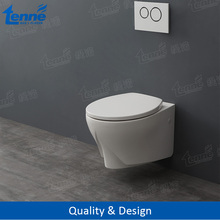 European design Tenne Sanitary Ware resin wall hung toilet price