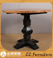 2016 solid wood folding dining table and chairs