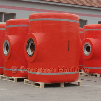 PU foam filled mooring buoy