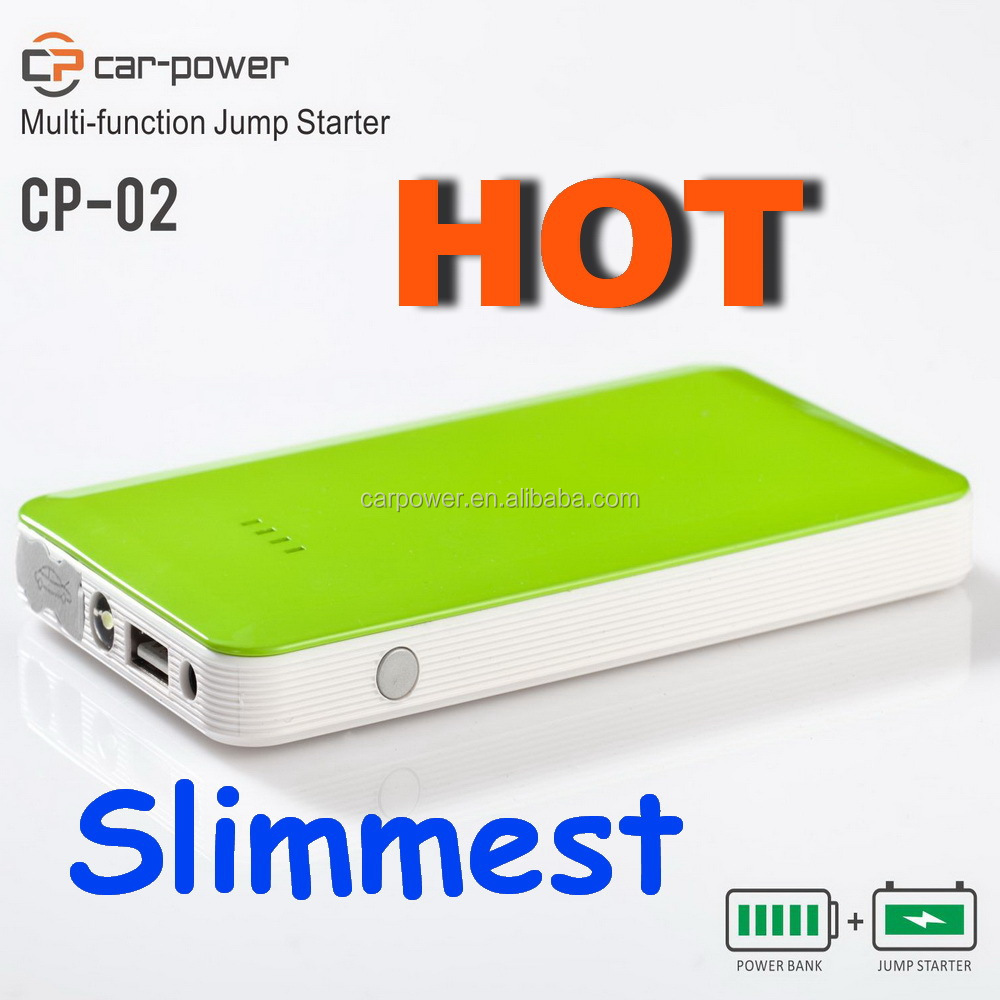 Mini jump starter fit for all standards chargers colorful battery