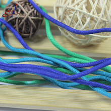 high quality round dress shoelaces coloured laces elastic shoelaces