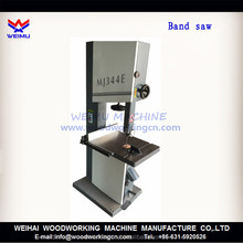 large wood working cutting band saw machine for sale MJ345E