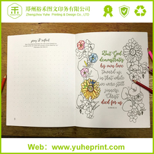 Design your own coloring book with customized size certified paper soy ink competitve factory price high quality