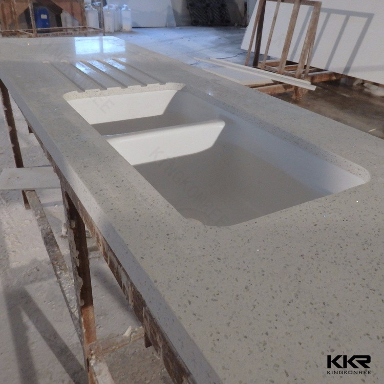 Acrylic Resin Stone Vanity Tops Bathroom Countertops For
