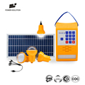 SMS Code Enabled Rechargeable PAYG Solar Home System For Off-grid Area