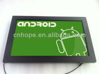 "21.5"" Android lcd touchscreen monitor with built in computer"