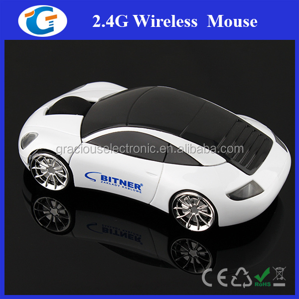 Custom Car Wireless Mouse With 2.4G Nano Receiver For PC/Laptop