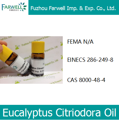 Farwell Lemon Eucalyptus Citriodora Essential Oil CAS No.8000-48-4