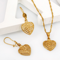 G656 Gold jewelry necklace earring 2015 China latest wholesale fascinating jewelry sets