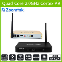 Zoomtak T8 Amlogic S802 Android TV Box Android 5.1HD Video Indian Movies 4K3D Internet TV Box OTA Quad Core TV Box