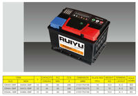 DIN12V 44AH Maintenance free Automotive LEAD ACID CAR Battery