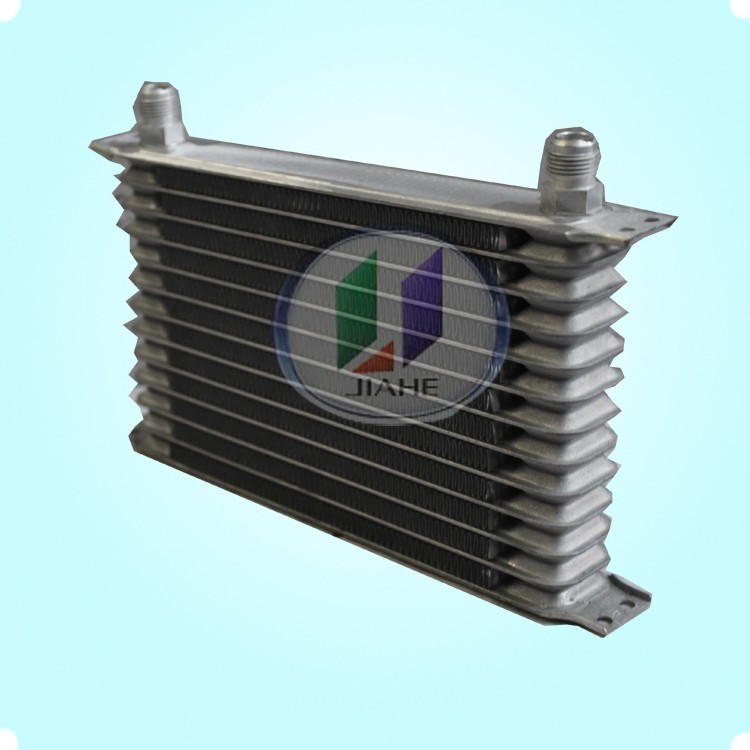 high performance trust type oil cooler