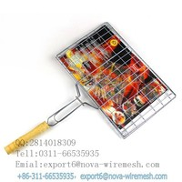 Mini indoor electric barbecue grill wire mesh / Korean barbecue grill