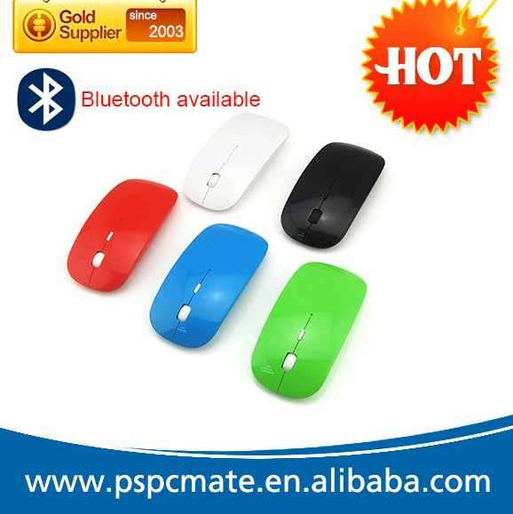 2015 new updated ultra slim 3D wireless bluetooth mouse