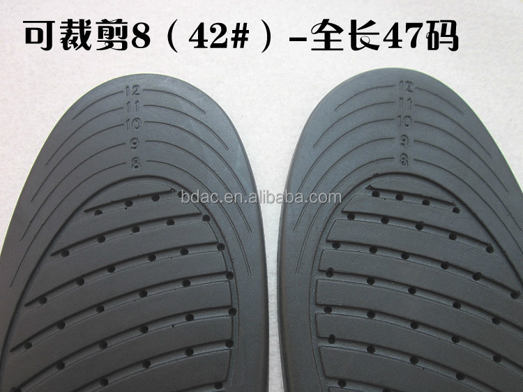 Pu Foam Arch Support Full Length Athletic Insoles