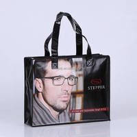 Cheap printed shopping bag, pp non woven bag wholesale, non woven promotional tote bag