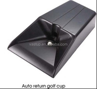 Golf ball auto return training cup