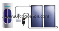 Watermark approved enamelled tank electric water heater solar water heating system Chinese solar water heater manufacturer