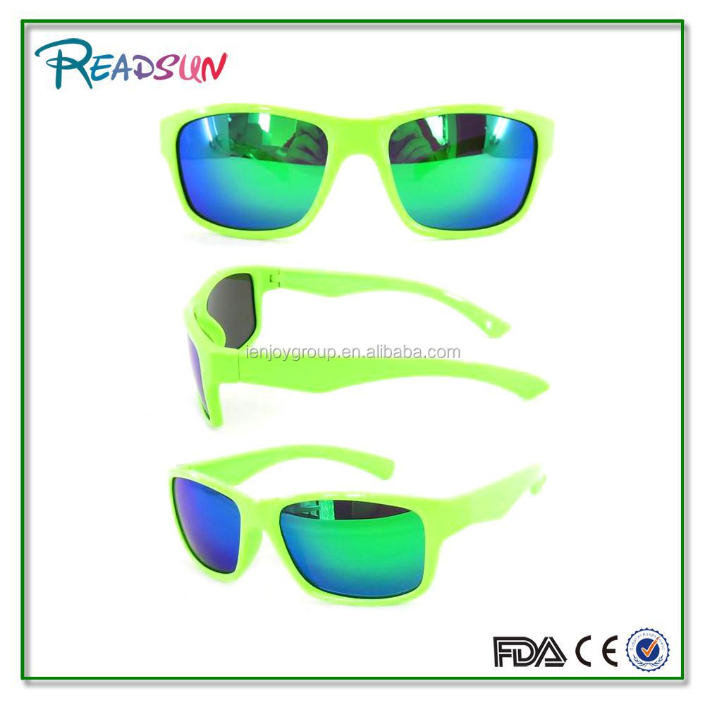 Hot TR90 sport sunglasses with mirror lens
