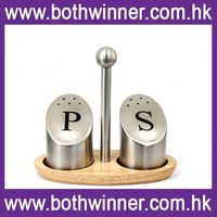 HT049 magnetic cruet set spice canister salt and pepper shaker