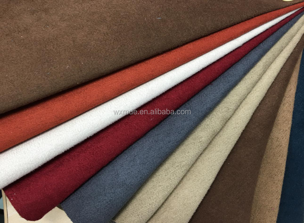 100% polyester upholstery farbic sofa Suede fabric
