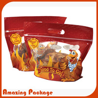grilled chicken bag / hot chicken bags/chicken plastic bags