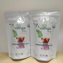 4oz, 250g, 500g fda plastic laminated tea pouch/doypack with zip lock/own logo/printed/custom hole tea bags
