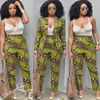 African Wholesale clothing women blazer and pants African designs suits attire