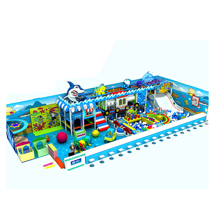 Workshop Price Ocean Theme Children Used Commercial Indoor Gym Playground Equipment For Sale