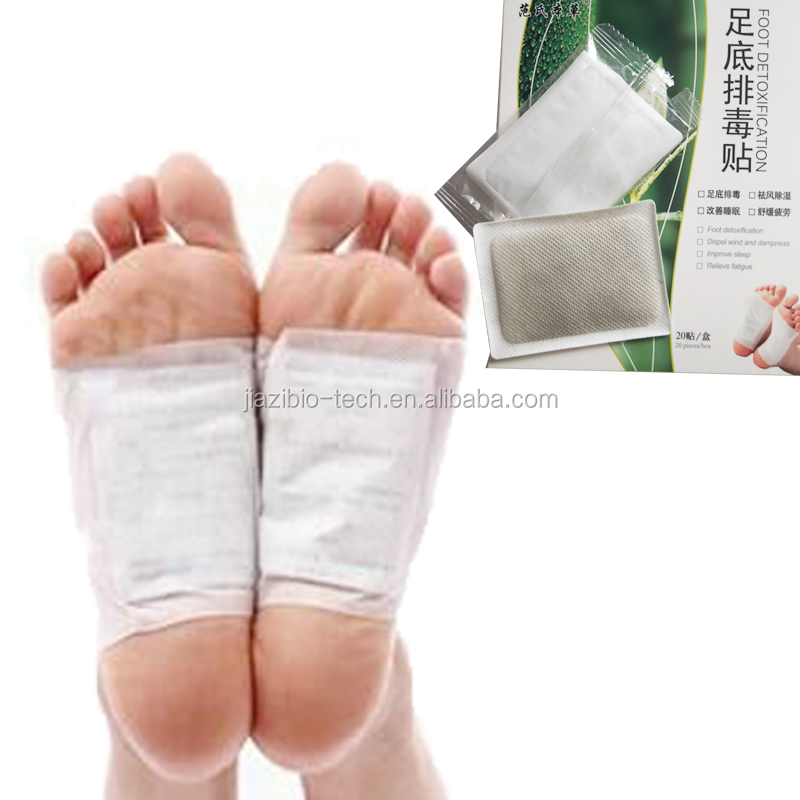 Painkoolers Chinese Bamboo Charcoal Detox Foot Patches for slimming and relaxing