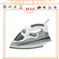 Adjustable temperature iron anti-calc steam station iron from MSF