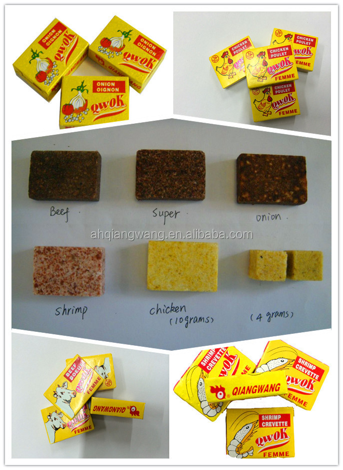 10g*6*12*8 HALAL CHICKEN STOCK CUBE CHICKEN CUBE BOUILLON CUBE