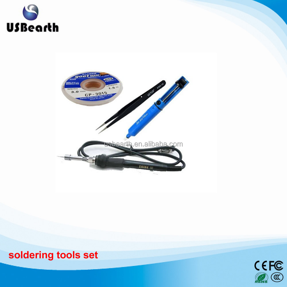 Brand new and high quality soldering iron kits solder iron tools set welding iron tools