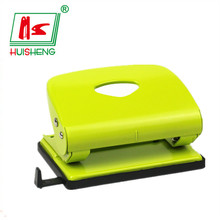 Office stationery promotional shape rectangular metal hole punch size