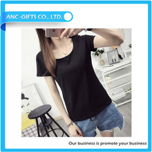 plain comfort good price high quality ptomotional label free t-shirt