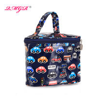 Wholesale Promotional triangle shape travel cosmetic bags