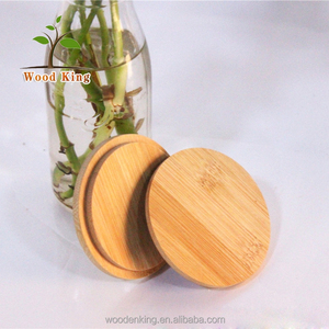 Wholesale Europe American Sanding Coffee Bamboo Cup Cover Wood Lid