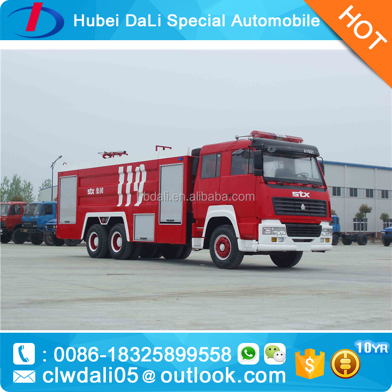 Top sale Airport fire truck fire fighting truck howo truck price for sale