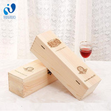 WanuoCraft Hot Cakes Luxurious Wooden Champagne Wine Box,Single Bottled Gift Box