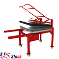 "20"" x 39"" (50 x 100cm) Large Format T-shirt Sublimation Heat Press Machine,220V Three-phase Power--US Warehouse"