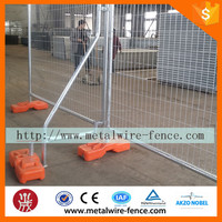Construction portable yard fence. Portable Temporary fence