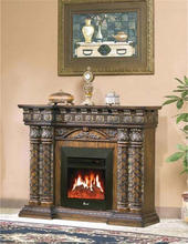 Latest product good quality home goods resin fireplace with competitive price